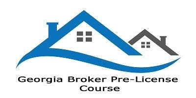 Georgia Real Estate BROKER Course - 60 Hours $475  Monday & Wednesday 9:30AM - 4:30PM Live Peachtree Corners