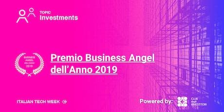 Premio Business Angel dell'Anno biglietti