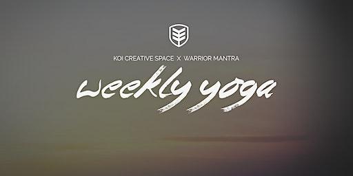 Weekly Yoga at KOI