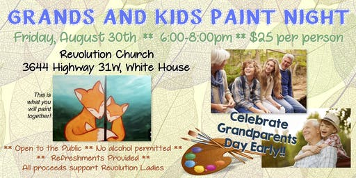 Grands & Kids Painting Party