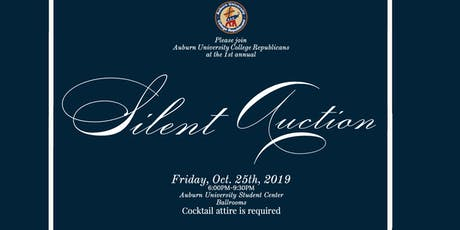 Auburn College Republicans Fall Silent Auction tickets