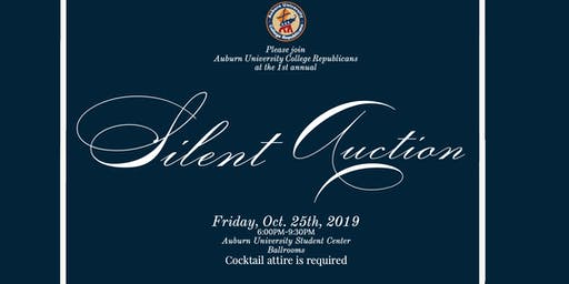 Auburn College Republicans Fall Silent Auction