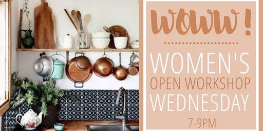 WoWW! Women's Open Workshop Wednesday
