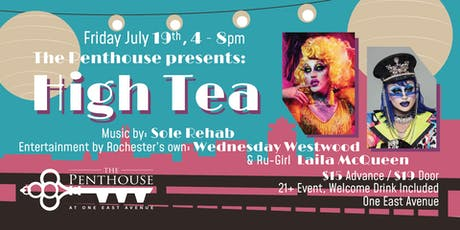 The Penthouse Presents: High Tea tickets