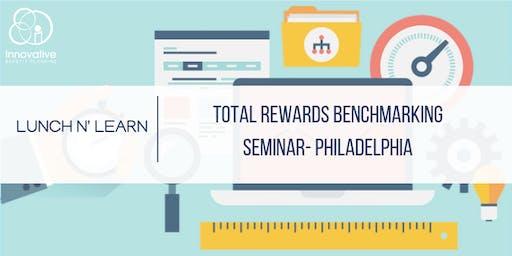 2019 Benchmarking Seminar 7/9/19 Philly