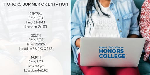 Honors College Summer Orientations