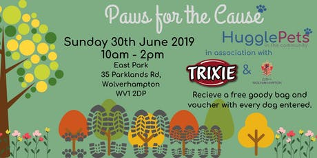 HugglePets - Walk in the Park (Paws for the Cause) tickets