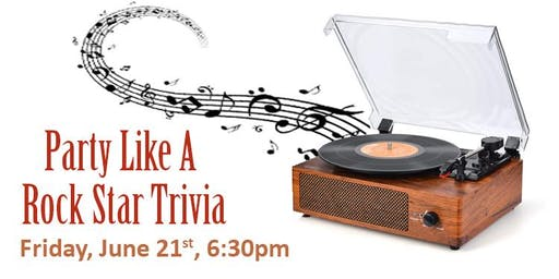 Party Like a Rock Star Trivia