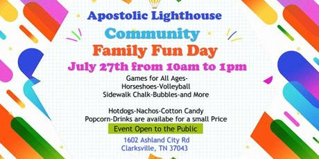 Community Family Fun Day tickets