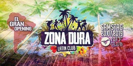ZONA DURA Bremen • Club Edition Opening • SA 20.07 • NFF Club Tickets