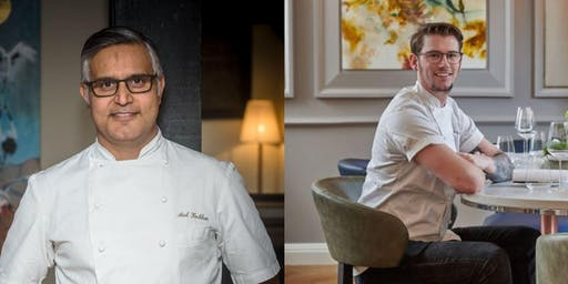 Atul Kochhar's Chef Series with Adam Handling at Kanishka