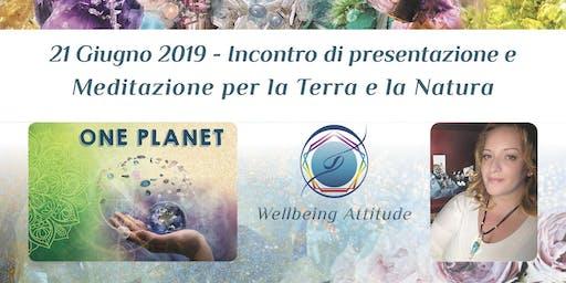 Incontro di Presentazione e Meditazione per la Terra