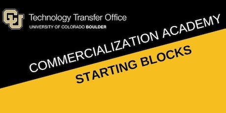 Commercialization Academy: Starting Blocks  tickets