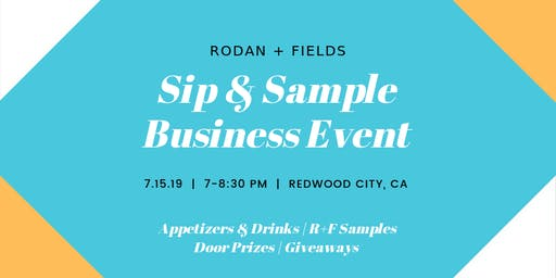 Rodan + Fields Sip & Sample Business Event