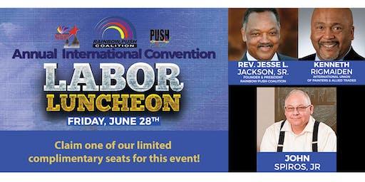 Annual Labor Luncheon - Honoring John Spiros, Jr.