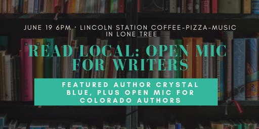 Read Local: An Open Mic for Writers in June