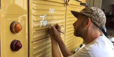 PAINT DUDLEY sign writing workshops with Seven 9 Signs 9th July