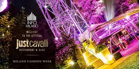 MILANO FASHION WEEK 2019 | Evento JUST CAVALLI biglietti