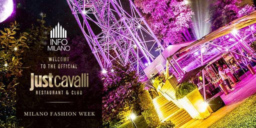 MILANO FASHION WEEK 2019 | Evento JUST CAVALLI