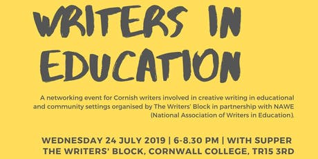 Writers in Education tickets