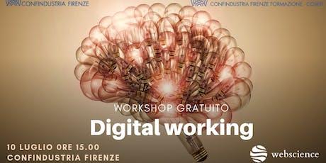 Digital Working tickets