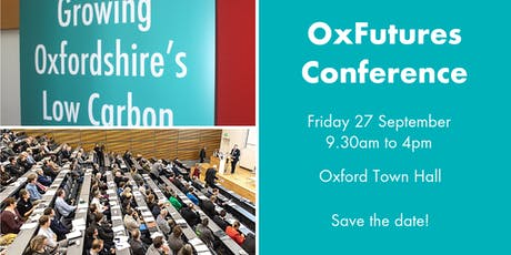 OxFutures II Conference tickets