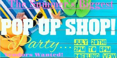 Summer Sipp'n - Pop Up Shop