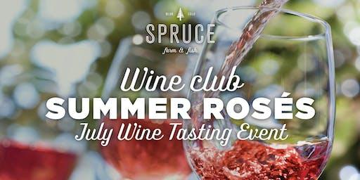 Spruce Farm & Fish | Wine Club - Summer Rosés