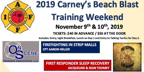 2019 Carney's Beach Blast Training Weekend tickets