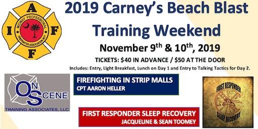 2019 Carney's Beach Blast Training Weekend