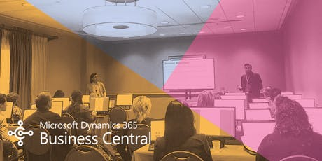 Microsoft Dynamics 365 Business Central Training: Finance tickets