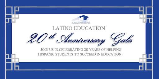 Latino Education 20th Anniversary Gala - November 2nd