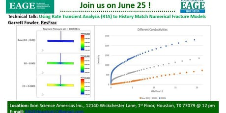 Using Rate Transient Analysis (RTA) to History Match Numerical Fracture Models tickets