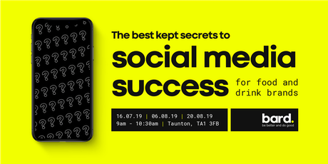 The best kept secrets to social media success for food and drink brands tickets