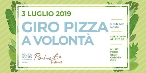 Giro Pizza a volontà