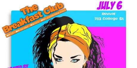 THE RETURN OF THE BREAKFAST CLUB - 80s Music Tribute tickets