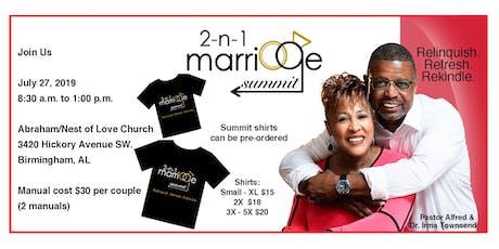 2-n-1 Marriage Summit tickets