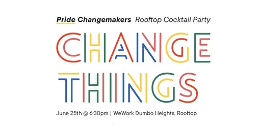 Pride Changemakers Rooftop: Cocktail Party | Access Labs