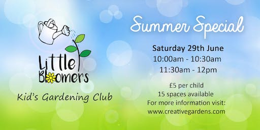 Little Bloomers Kids Gardening Club