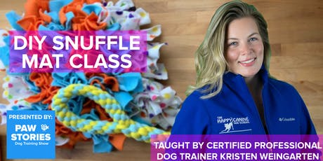DIY Snuffle Mat  Interactive Dog Toy Event At Paw Stories HQ tickets