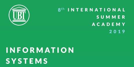 International Summer Academy 2019 - Information Systems tickets