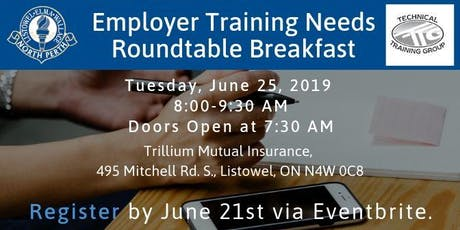 Employer Training Needs Roundtable Breakfast tickets