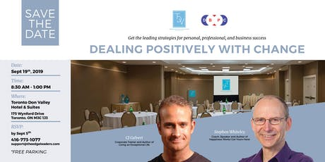 Dealing Positively With Change tickets
