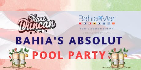 Bahia Mar's Absolut 4th of July Pool Party and Concert  tickets