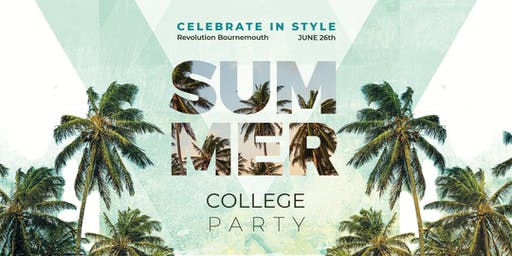 Revolution College Summer Party