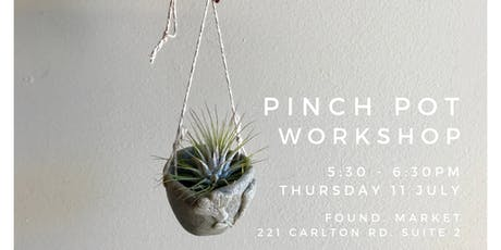 Pinch Pot Workshop tickets