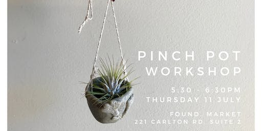 Pinch Pot Workshop