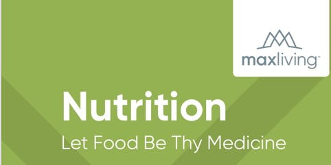 MaxLife Nutrition & Posture Workshop
