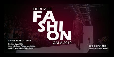 Heritage Fashion Gala 2019 tickets