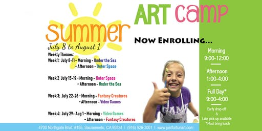 Just for Fun Art Summer Camp